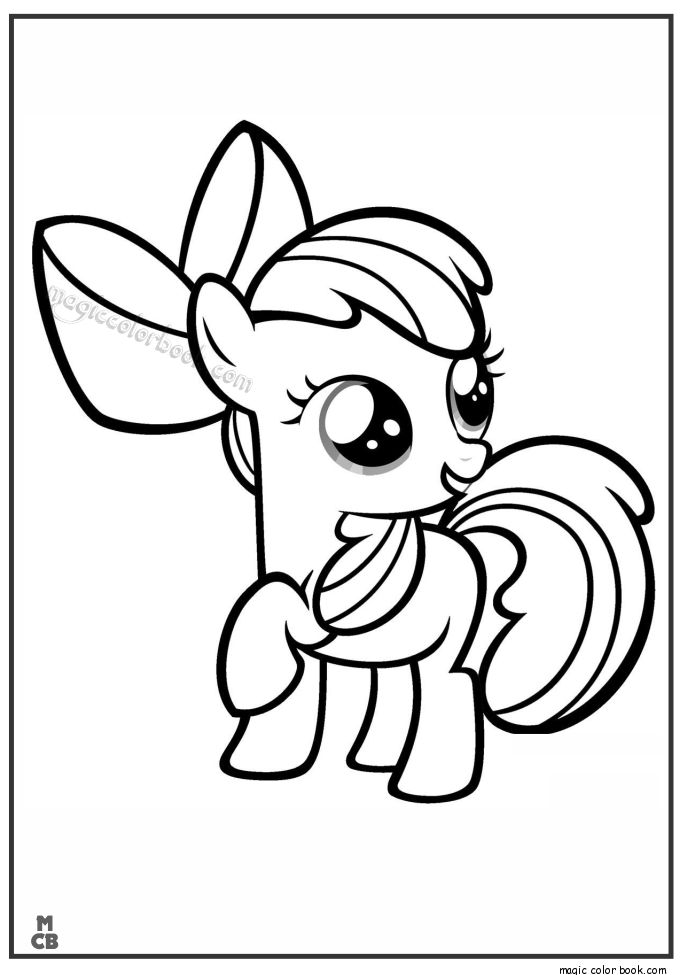 Free Printable My Little Pony Coloring Pages For Kids Book Dkjfi