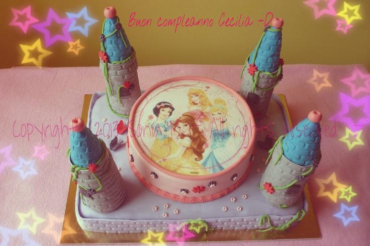 Torta delle principesse Princesses cake