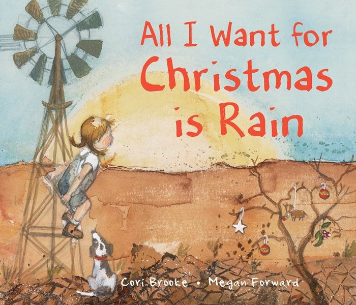 Cori Brooke (text), Megan Forward (illus.) All I Want for Christmas is Rain, New Frontier Publishing, Nov 2016, 32pp., $24.99 (hbk), ISBN 978125059717 All I Want for Christmas is Rain is the story ofan Australian farmers' daughter who asks Santa for rain during a drought. The pictures are beautiful – somewhat in the impressionist styleRead More