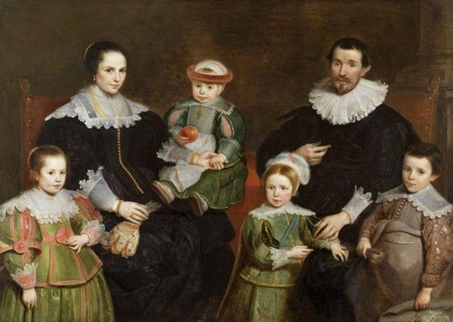 Cornelis De Vos – Family Portrait c. 1630