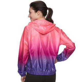 d97a91c38407 Women's FILA SPORT® Ombre Hooded Woven Windbreaker Jacket   Shiny ...