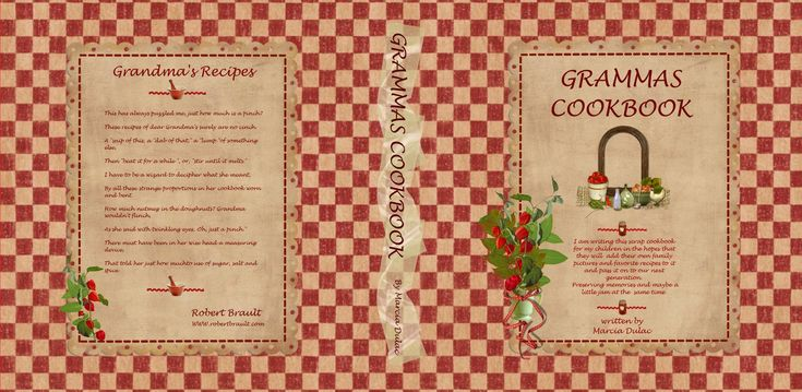 Printable Cookbook Cover : Images about miniature books on pinterest