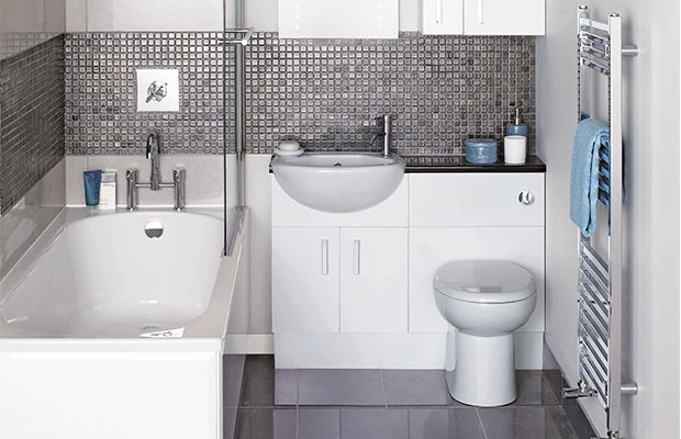 If there's no possibility of extending into a landing or spare room, it's vital to plan your small bathroom space in detail to ensure a successful renovation project