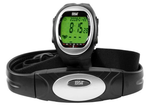 Pyle Sports PHRM56 Heart Rate Watch by Pyle Sports. $27.63. Amazon.com Product Description           The PHRM56 includes a watch and heart rate monitor belt     Click here for a larger image  Stay Fit, Stay Strong, and Keep Moving With Pyle Sports  This heart rate monitor and watch is the perfect addition to your training program. Now you can monitor your heart rate as you run, jog, or doing any cardiovascular exercise.  This watch also includes a chronograph, d...