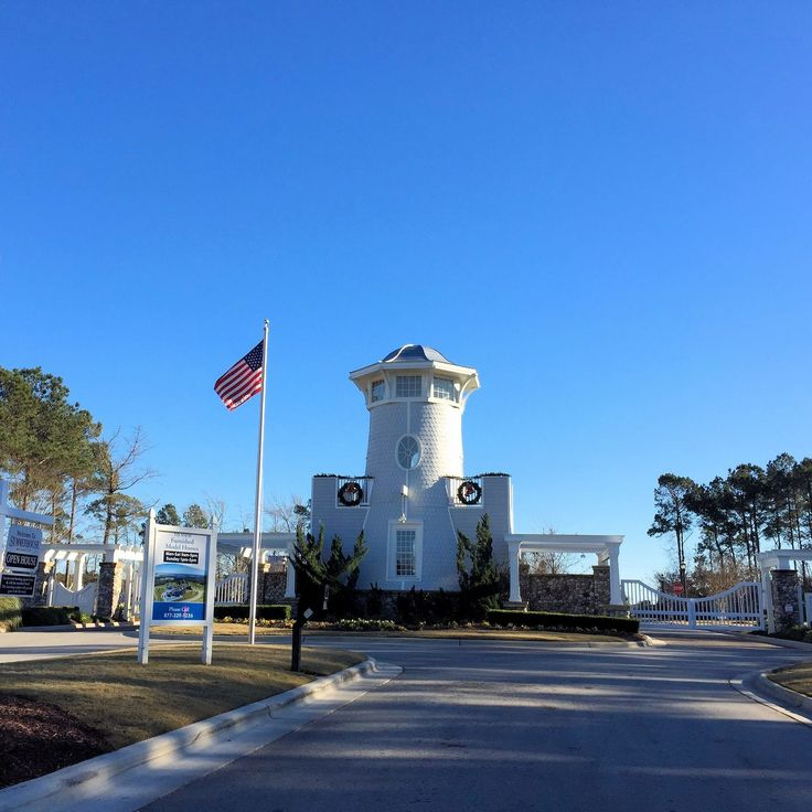 Summerhouse on Everett Bay in Holly Ridge just outside North Topsail Beach. How is that for an entrance? #NorthTopsailBeach #HollyRidgeNC #GrandEntrance #Style #RealEstate #GatedCommunity #Gate #Community #Realtor #TheCameronTeam #PinCom