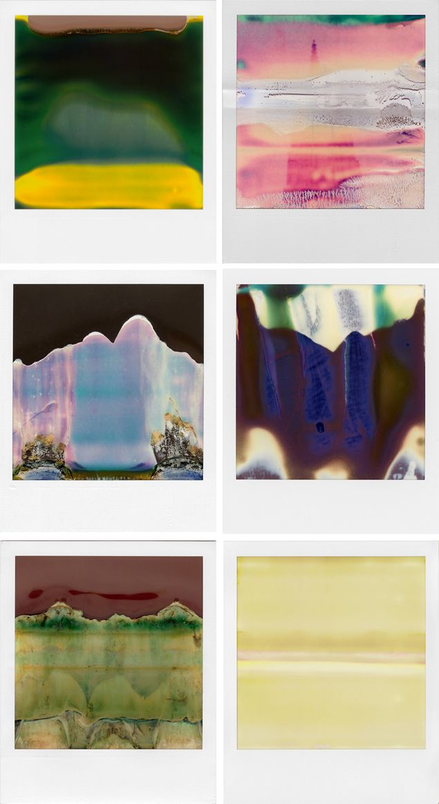 Ruined Polaroids by William Miller. Who says broken cameras are worthless? I happen to think these are great little pieces of art.