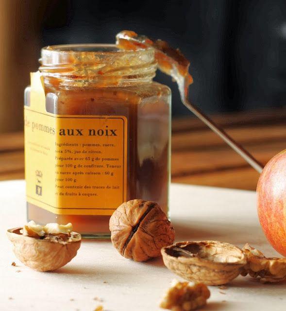confettura di mele e noci
