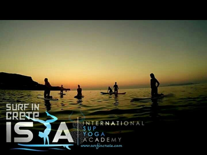 #sup #yoga #Crete #Greece #surfincrete
