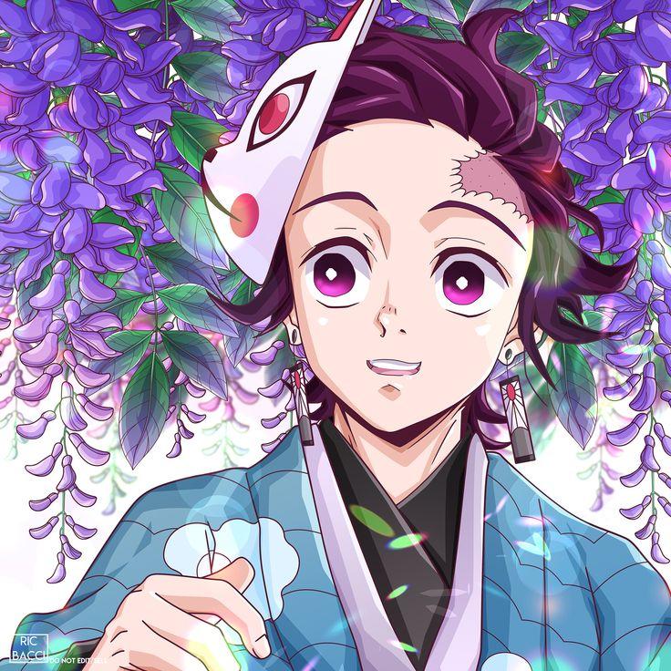 1176x2400 Nezuko Kamado Kimetsu no Yaiba Art 1176x2400