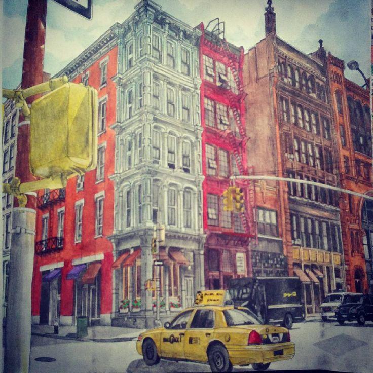 #stevemcdonald #fantasticcities #fantasticstructures #jphilipg #artwork #artbook #artbysteve #art #colorbook #usa #newyork #NYC #manhattan #soho #america #америка #сша #ньюйорк #манхеттен #сохо #миф #мифтворчество #mifbooks Finished! Сохо (англ. SoHo) — жилой район, расположен в районе Манхэттен в Нью-Йорке. Известен своими зданиями XIX века с чугунными элементами, наличием множества галерей, магазинов, кафе, ресторанов и отелей, популярен среди туристов.  Сохо — это бывший производственный…