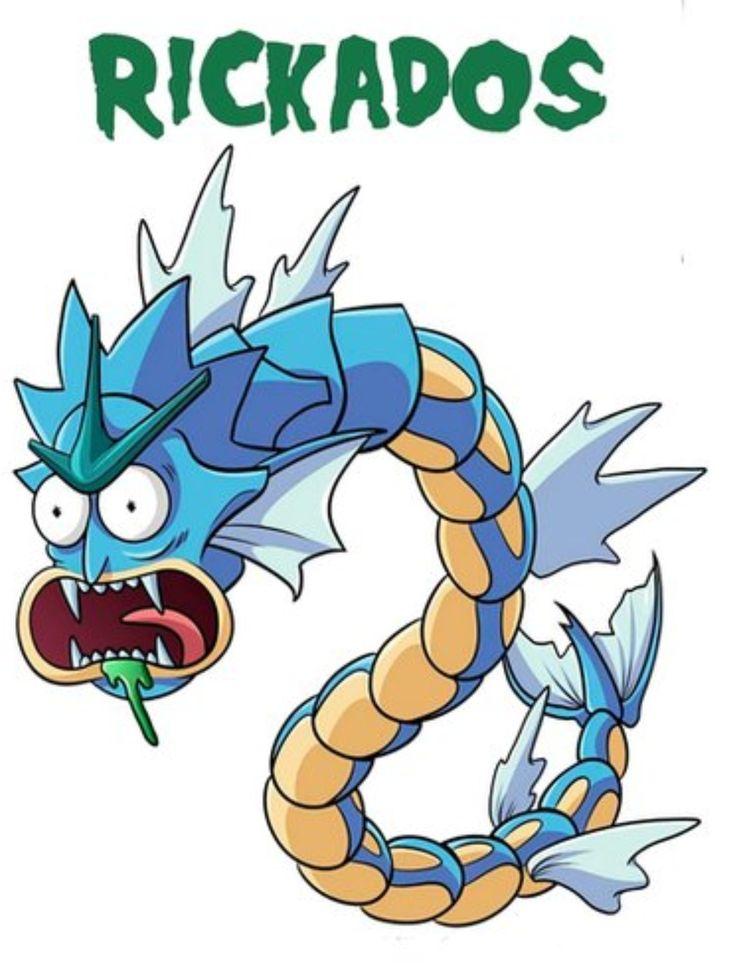 Rick and Morty x Rickados Pokemon