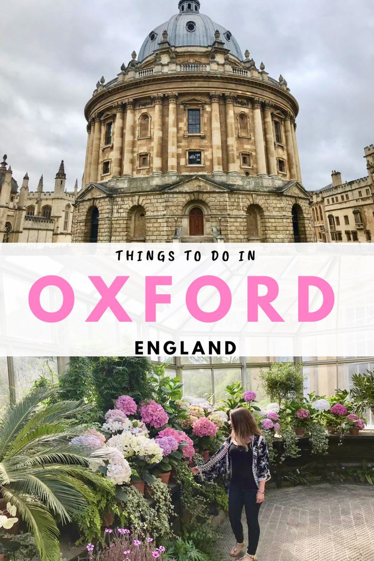 A day trip itinerary for Oxford, UK