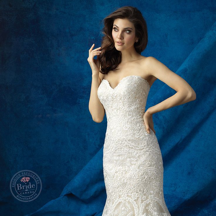 9361 gown from Allure Bridal collection, as seen on dressfinder.ca