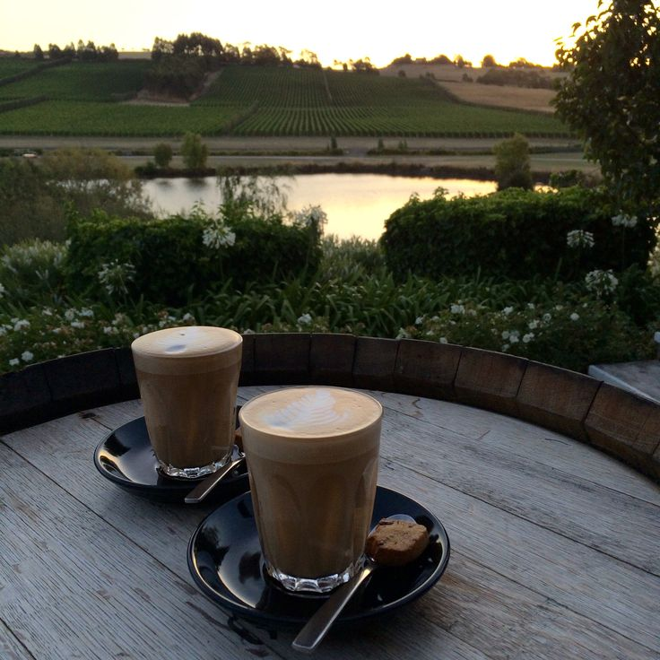 Morning coffee with a view #coffee #josefchromywines