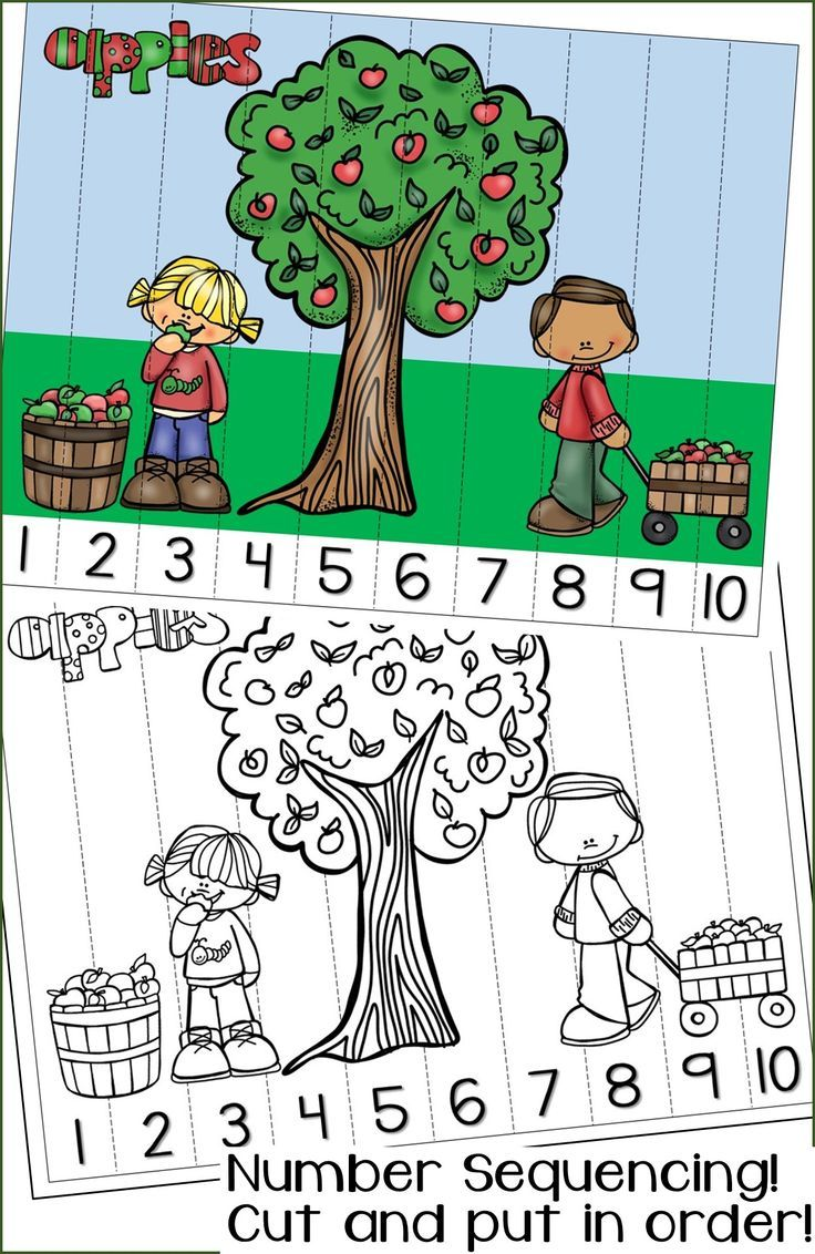 FALL Number Sequencing Puzzles! In color to laminate and use for centers, or black and white to color, cut, and glue back together. NUMBERS 1-120