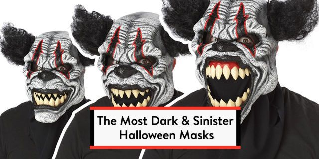 Don't mask your excitement: Go all in this year with the spookiest and most realistic Halloween masks ever!