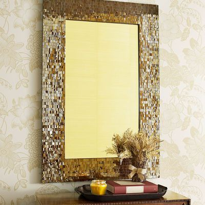 Image result for mirrors with amber frame