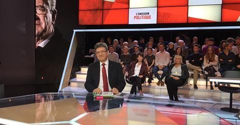 Le journal de BORIS VICTOR : Jean-Luc Mélenchon - C'était hier sur France 2.