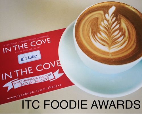 ITC Foodie Awards - awards created to celebrate the Food and Cafe Culture in Lane Cove NSW 2066 www.inthecove.com.au