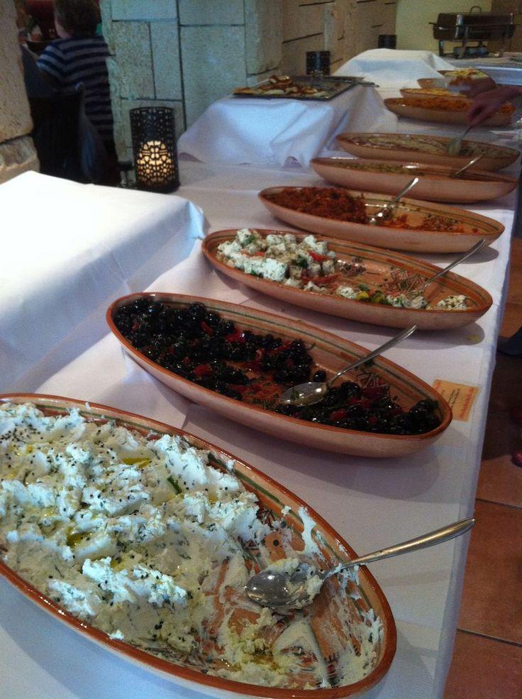Arab brunch in Berlin - Casalot  via Berlin on a Platter