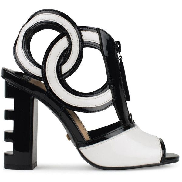 1000  ideas about Black And White Sandals on Pinterest | Black and ...