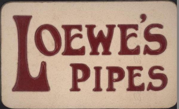 Old Shop Stuff   Old-shop-advertising-display-item-Loewe-Pipes for sale (21514)
