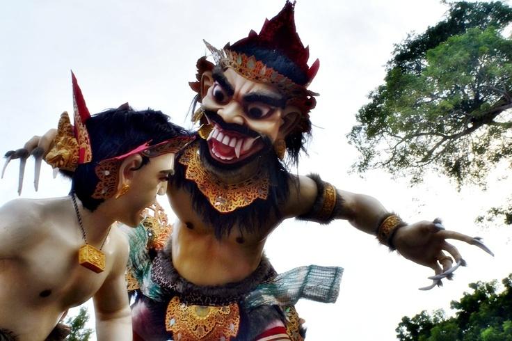 Ogoh-Ogoh Parade, Nyepi Day, Bali 2013