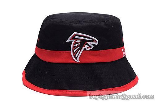 3e00b0d27dd ... wholesale nfl atlanta falcons bucket hats black red stripe bd96b d9cab