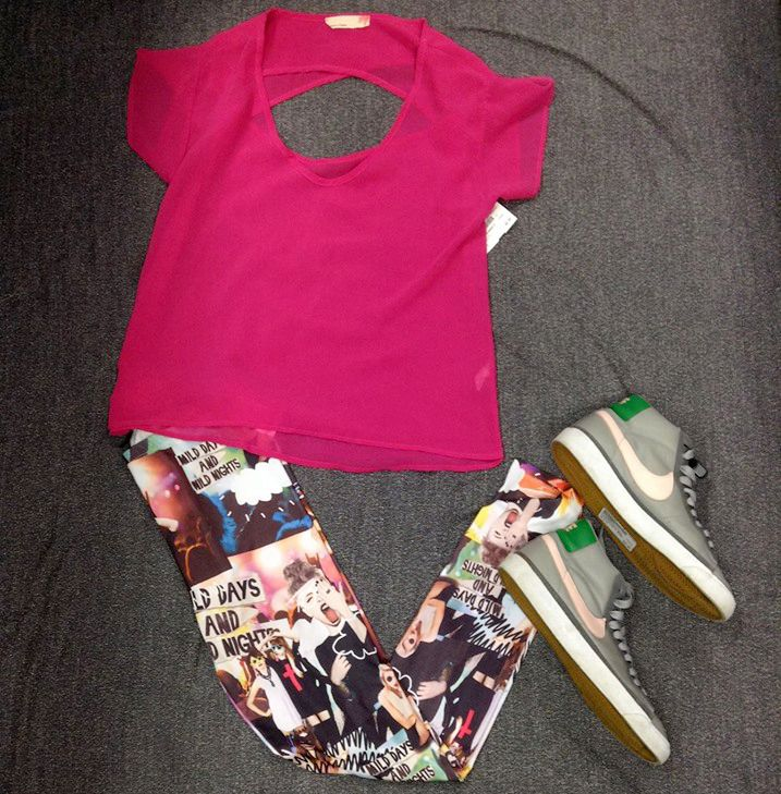 We're all about that #athleisure look - Cute & perfect for the summer! Shop with us today! | www.platosclosetnewmarket.com