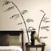 Found it at Wayfair - Room Mates Deco Painted Bamboo Giant Wall Decal