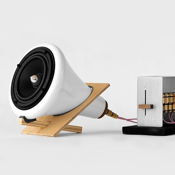 When function meets beauty. Joey Roth desktop speakers on sale at Fab.