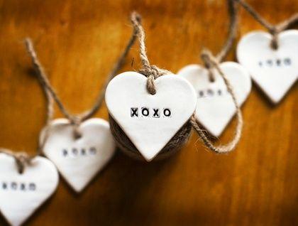 Hugs & Kisses XOXO Ceramic Bunting