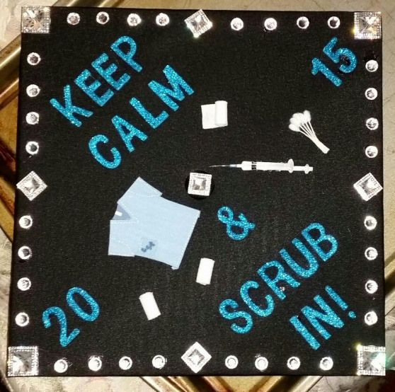 Surgical Technologist graduation cap #arteducation #art #education #graduation #cap