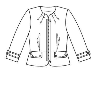 Inspiração do dia: Desenho Técnico de moda |