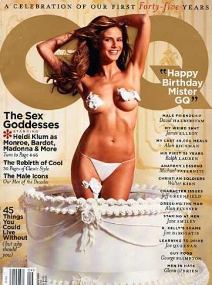GQ Magazine [United States] (September 2002) | magazine ...