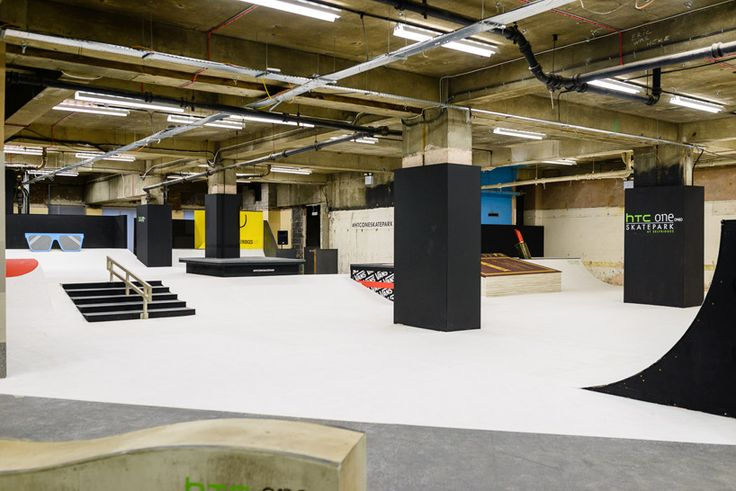 UK's largest covered skatepark by HTC and selfridges