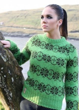 The Island Wool Company- Faroese By Design - Nordic By Nature - Woman's Jumper