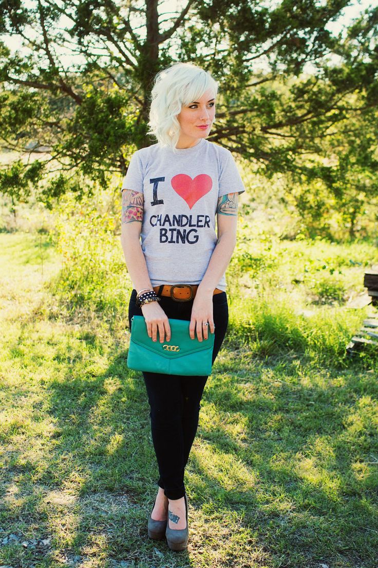 """what i wore :: """"miss chanandler bong"""" 