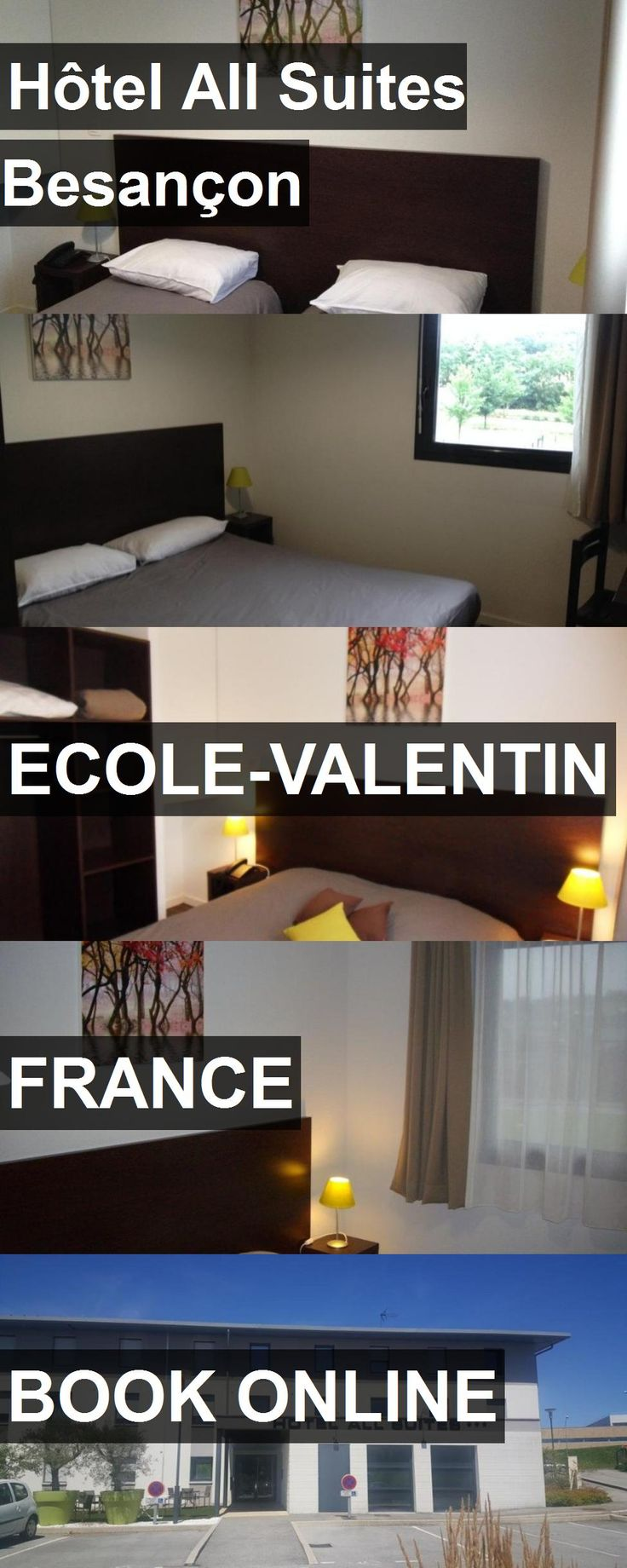 Hotel Hôtel All Suites Besançon in Ecole-Valentin, France. For more information, photos, reviews and best prices please follow the link. #France #Ecole-Valentin #hotel #travel #vacation