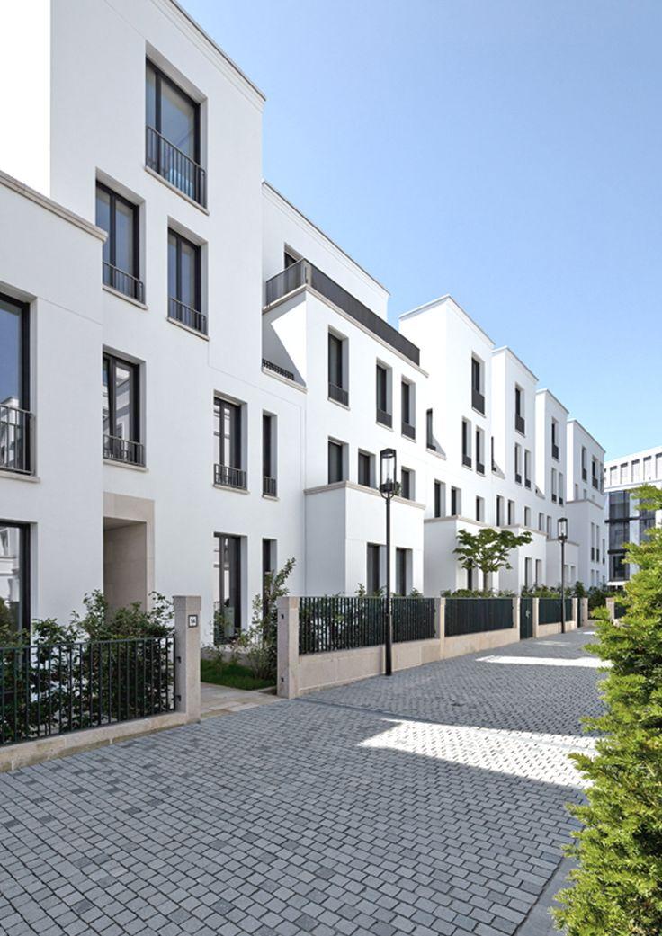 SOPHIENTERRASSEN. Harvestehuderstieg/ Grosse Stadthausgruppe. MRLV Architekten, © Jochen Stüber, Hamburg