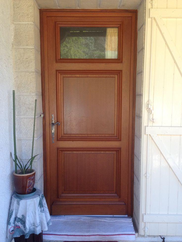 17 best images about portes d 39 entree on pinterest for Porte 5 panneaux shaker