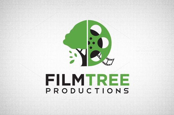 Check out Film Tree Logo by Domo Designs on Creative Market