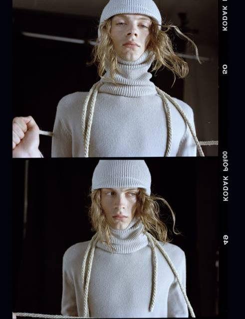 """Schön Magazine  """"Lost childhood"""" Saverio Palatella  F17 The ski mask sweater Terenzi Communications"""