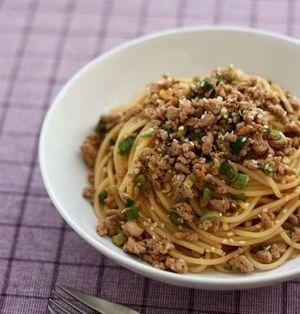 ひき肉パスタ レシピ5