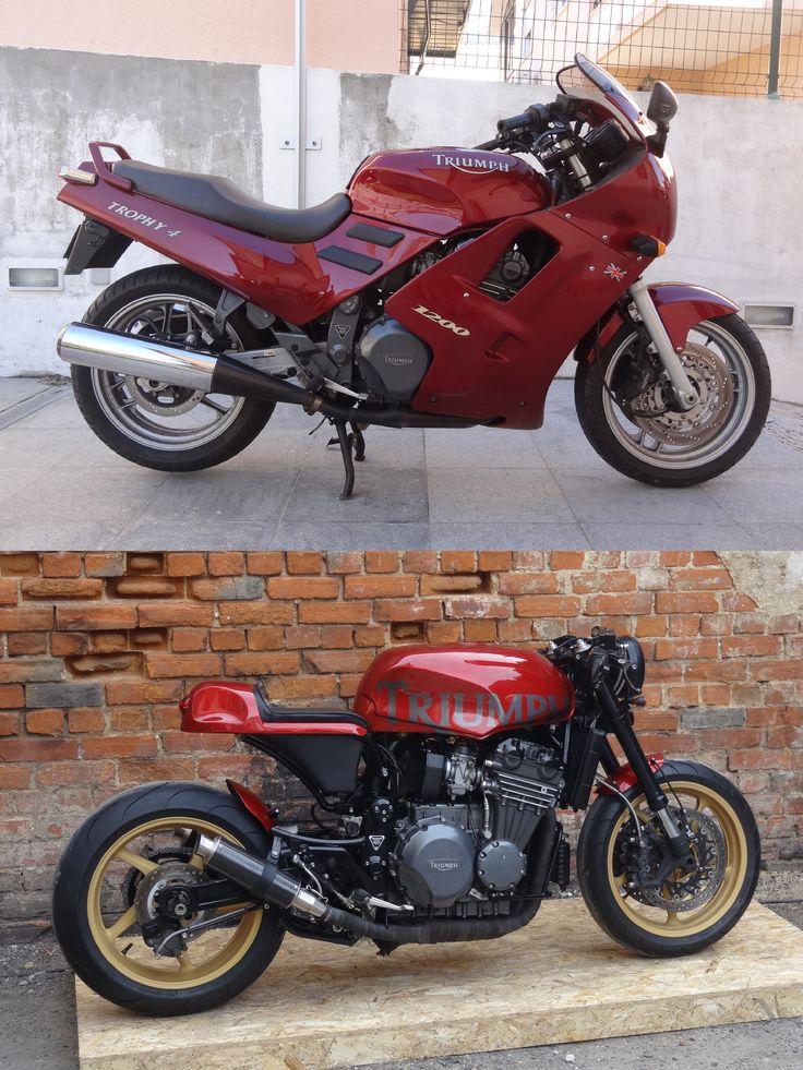 MAD artworks #1 Triumph Trophy 1200 Café Racer