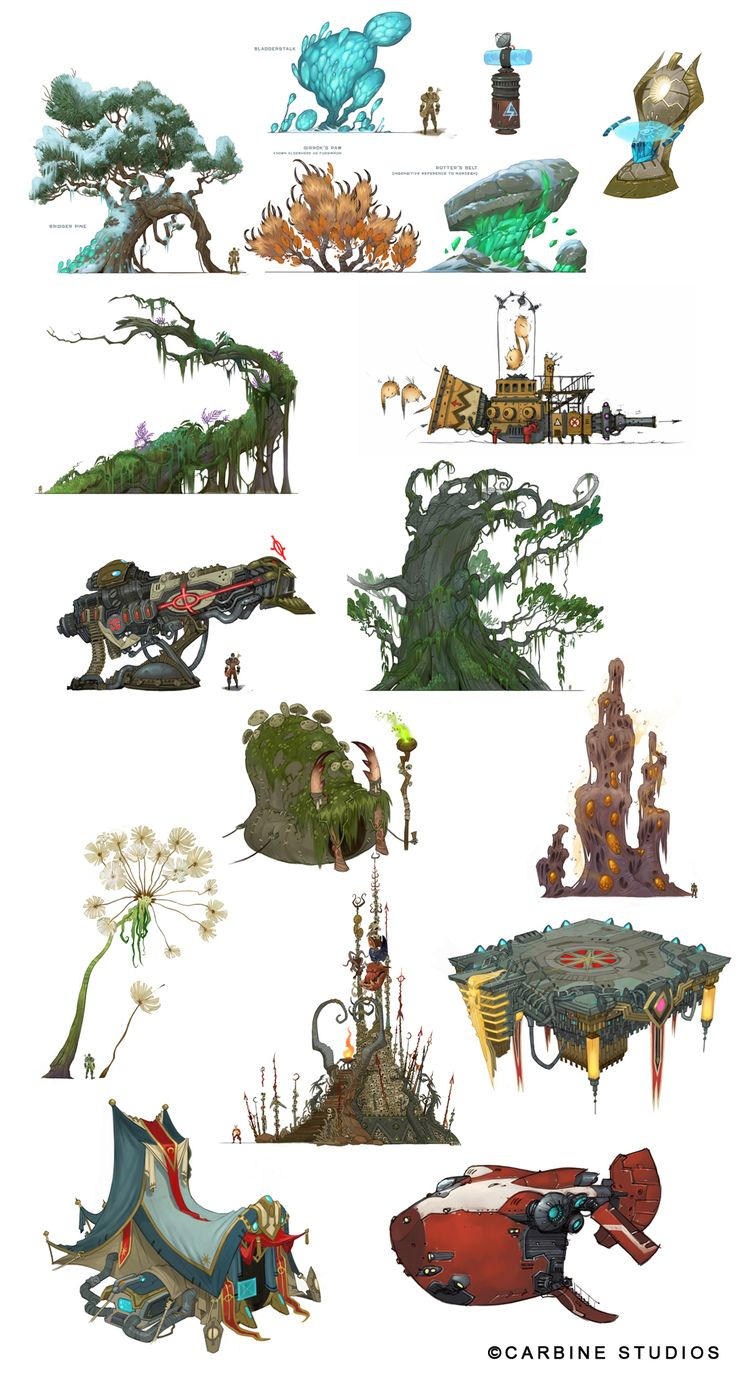 coryloftis: Since I've been playing Wildstar so much here lately, I thought I'd celebrate with a little concept art dump!! Some of the man...