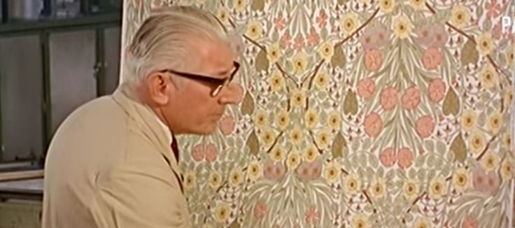 Amazing 50-year-old film showcases wallpaper manufacturing processes