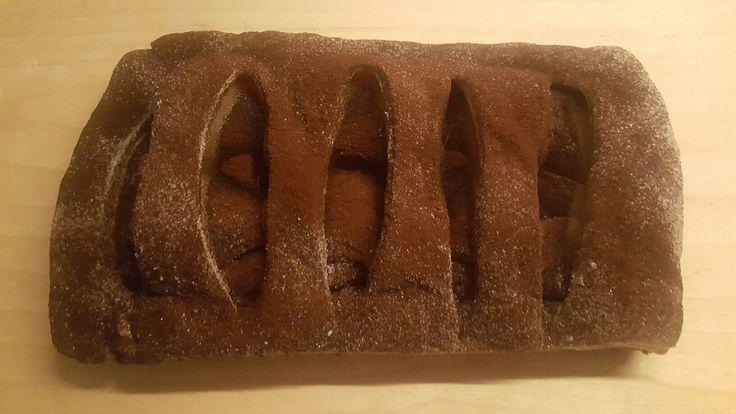 ..strudel pere e cioccolato