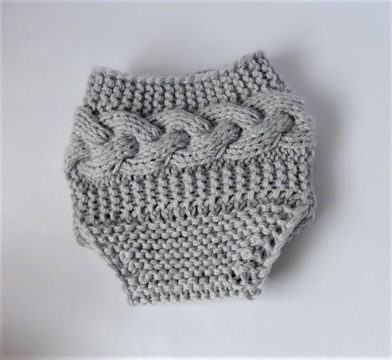 knit diaper cover newborn shorts photo prop diaper cover knit