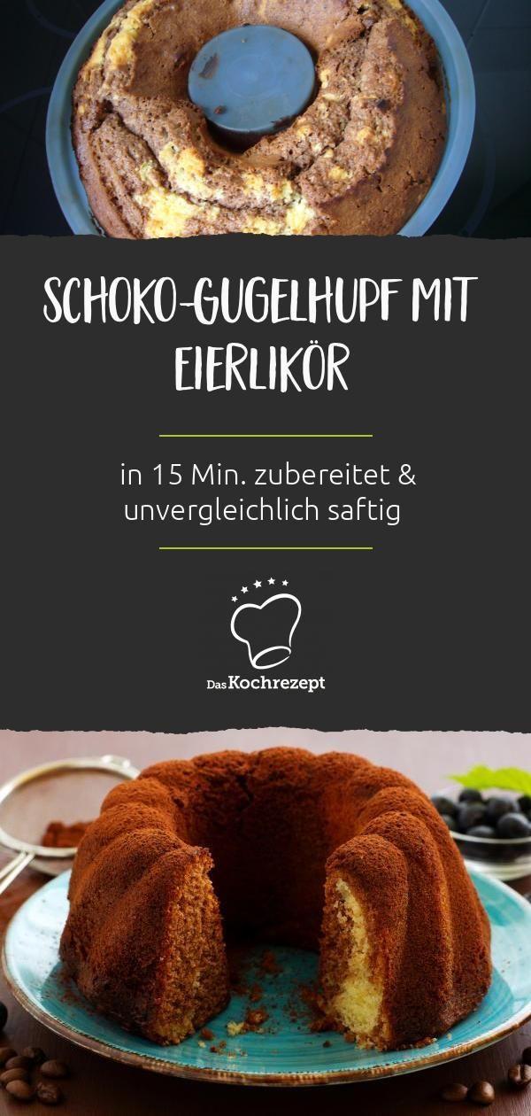 Apr 9, 2020 – Schoko Eierlikör Gugelhupf – das ist wohl die perfekte Kombi! So wird der Kuchen mit Schuss nämlich unverg…